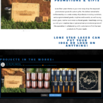 Lone Star Laser Web Portfolio